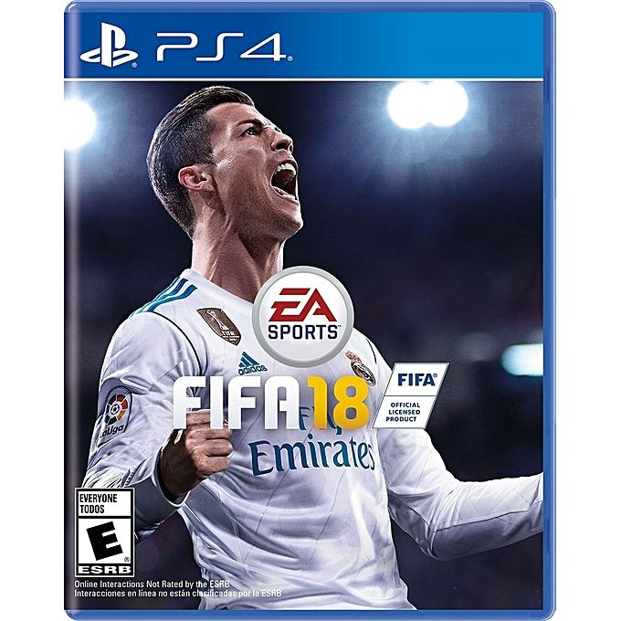 FIFA 18 - PS4- Official Edition With Licensed Seal