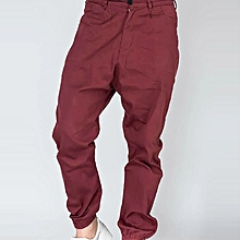 NEW HEP CHOCOLATE BROWN EMBROIDERED COTTON TROUSERS SIZE 10 EU 38