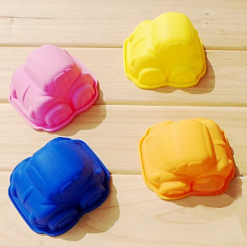 Silicone Mini Car Cake Mold (color Random)
