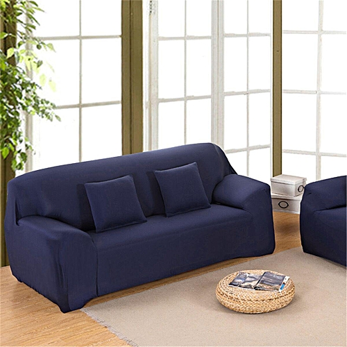 Stretch Fit Sofa Cover Lounge Couch Easy Removable Slipcover Red Washable Brwon #2 Seaters