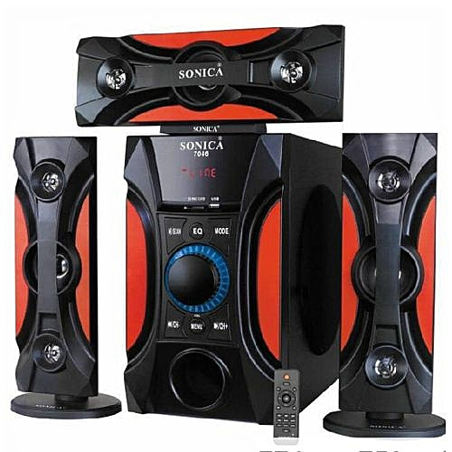 Leggend Bluetooth Powerful Home Theater Black