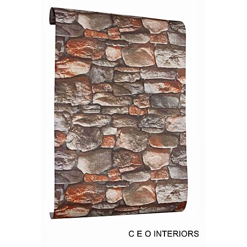 Realistic Bricks Effect Wall Paper