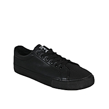 Classic Shell Toe Sneakers - Black
