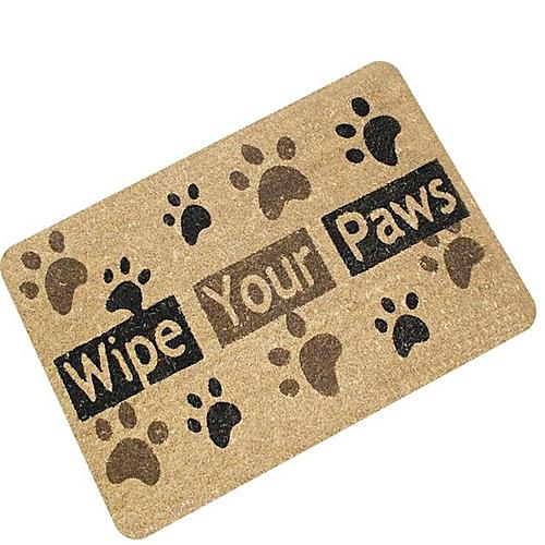 Letters Funny Door Mat Welcome Home Entrance Floor Rug Non-slip Doormat Carpet #wipe Your Paws