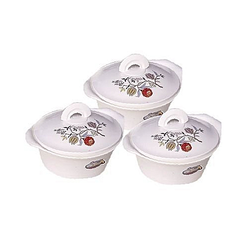 3 Piece Insulated Food Warmer