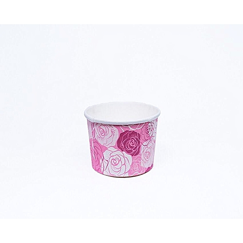 40pcs ×Pink Rose Baking Cup Cupcake Muffin Ice Cream Papercups