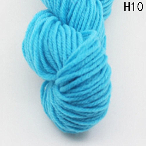 Eleganya High Quality Hook Shoes Dedicated Pure Color Knit Cotton Yarn H10