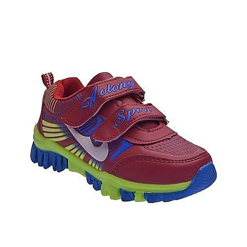 Colourful Kids Sneakers- Multi