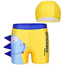 1e8039d9fdb61 Boys Dinosaur Pattern Printed Summer Swim Beach Shorts & ...