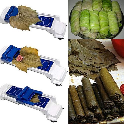 1Pcs DIY Sushi Grape Cabbage Leaf Food Rolling Tool Maker Kitchen Roller Machine