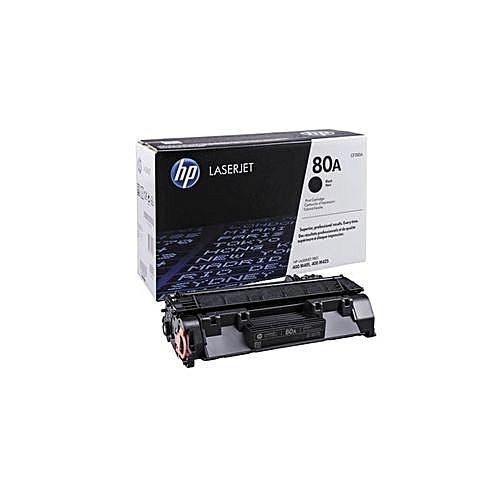 100% GENUINE 80A Black LaserJet Toner Cartridge (CF280A)