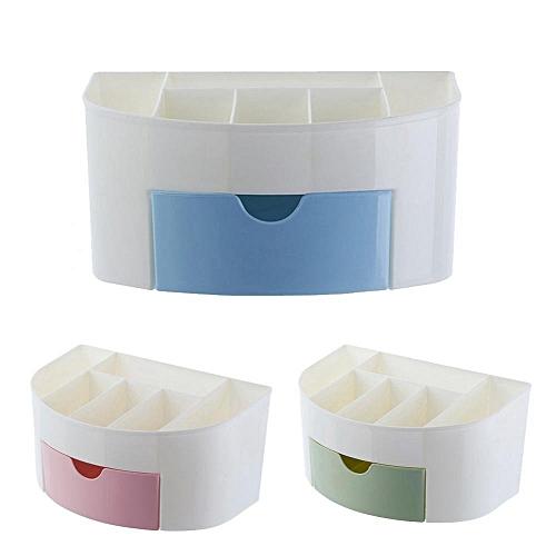 Multifunctional Desk Desktop Organizer Drawer Stationery Holder Makeup Storage Box Home