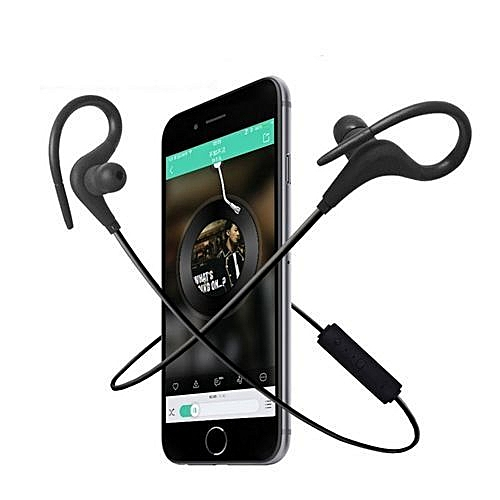 Bluetooth Earphones Wireless Headphones Sport Headset Waterproof Stereo Handsfree Running Earpiece
