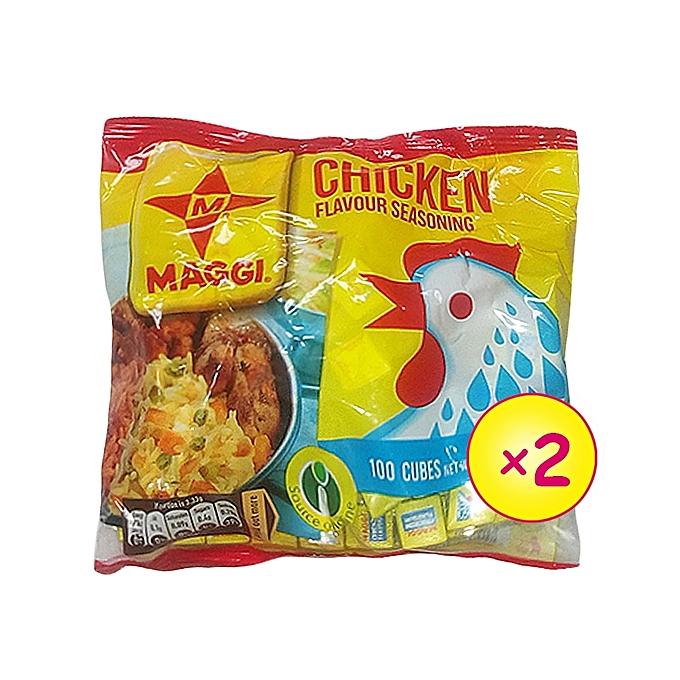 Maggi Chicken Pack - 100 Cubes (x 2)