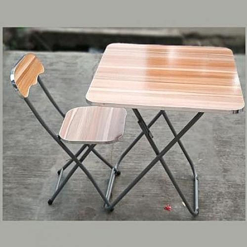 Adjustable Reading/Laptop Table And Chair(Wood & Metal)