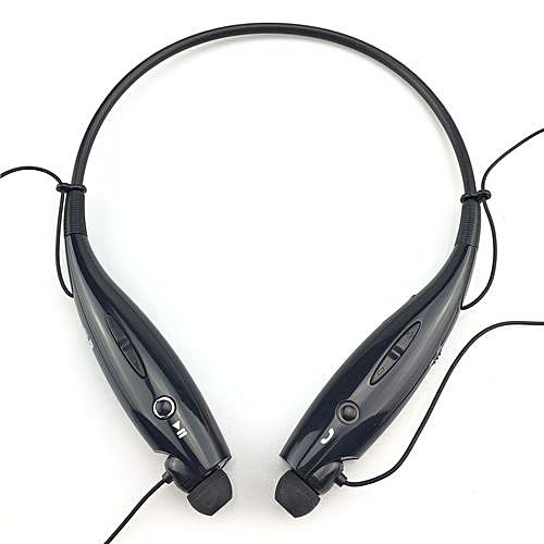 Wireless Bluetooth Headset Sports Bluetooth Earphones Headphone With Mic Bass Earphone For Samsung Iphone Black