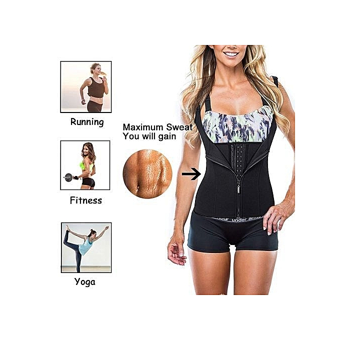 19678e7a4a7 Fashion Strong Waist Trainer With Double Power -Zip   Hook