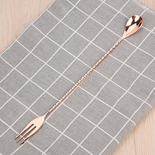 1Pc Cocktail Spoon Beverage Coffee Mixing Layering Tool