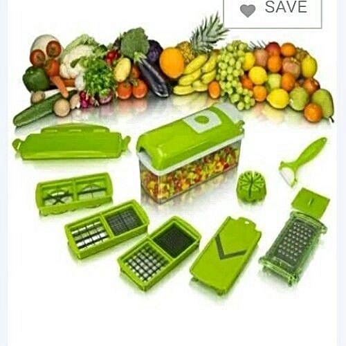 Nicer Dicer Plus 12-Piece Multifunctional Fruit/Vegetable Chopper