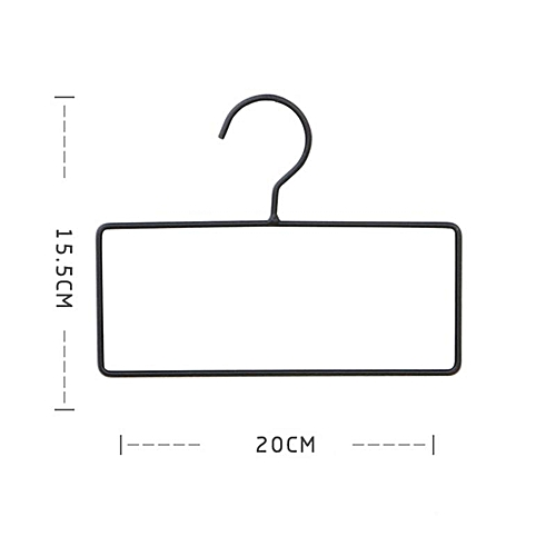 Shinewerop 1 PC Household Creative Geometric Shaped Simple Clothes Hanger