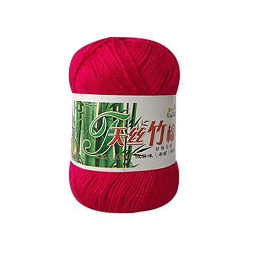 Jummoon Shop New Bamboo Cotton Warm Soft Natural Knitting Crochet Knitwear Wool Yarn 50g H