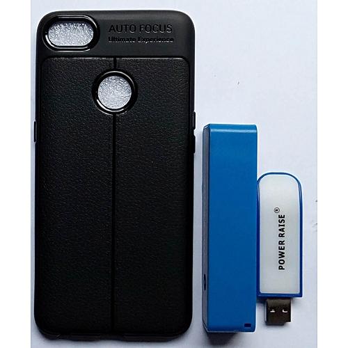 Infinix Note 5 (X604) Flexible Case Plus Free 4500mah Power Bank & USB Light