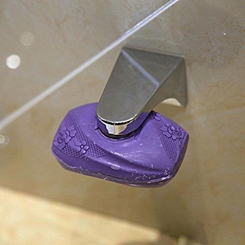 New Fashion Magnetic Soap Holder Adhesion Wall Soap Dish Sink Bathroom Silver W