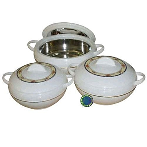 Hot Pot Insulated Food Warmer Casserole 3pcs