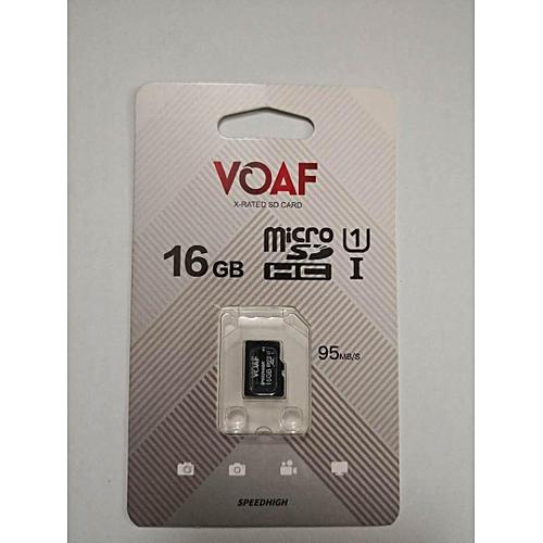 VOAF 16gb Micro Anti-virus Sd Card