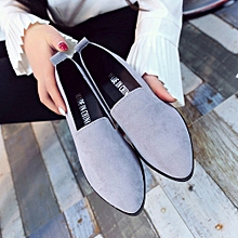 Women Ladies Slip On Flat  Sandals Casual Shoes Solid Fashion Loafer for sale  Nigeria