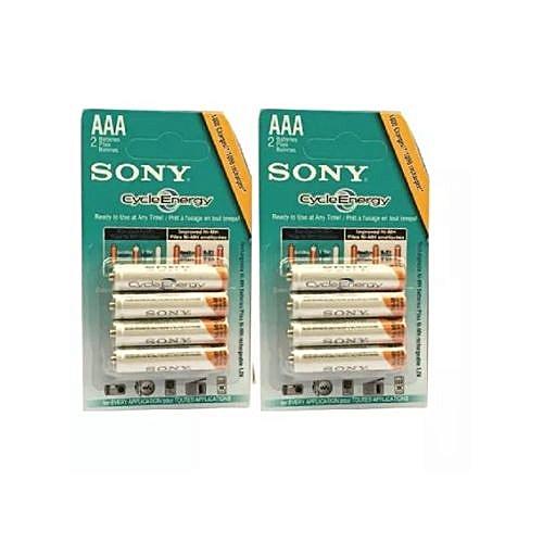 Sony AAA Cycle Energy Rechargeable Camera Battery
