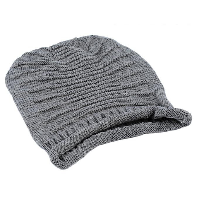 078cc1849cf Unisex Women Men Winter Warm Ski Knitted Crochet Baggy Beanie Hat Cap