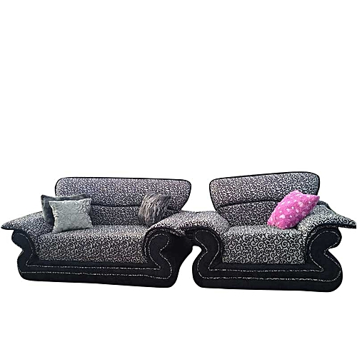 Pustra-B Blackmix 7 Seater Sofa