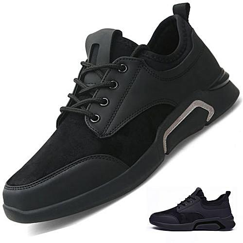 Men's Shoes Walking Jogging Shoes Men's Shoes-black