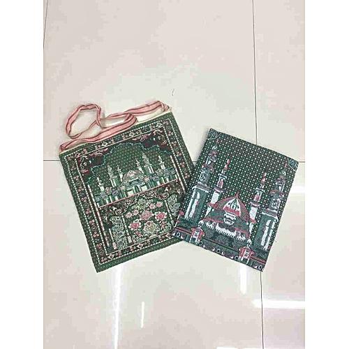 Muslim Prayer Mat With Bag For Travel Bag Prayer Mat ,Islam Prayer Rug With Bag Sets HGV-037