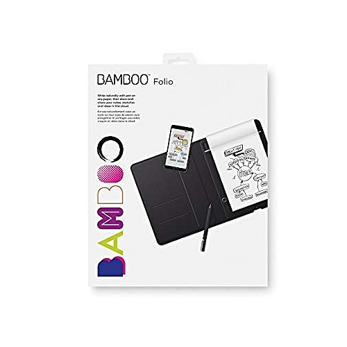 BAMBOO FOLIO SMARTPAD DIGITAL NOTEBOOK, LARGE A4/LATER SIZE.