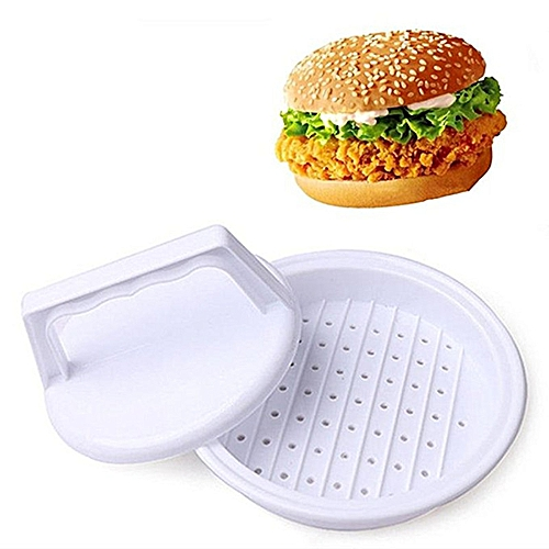 Kitchen Tools Plastic Meat DIY Mold - White