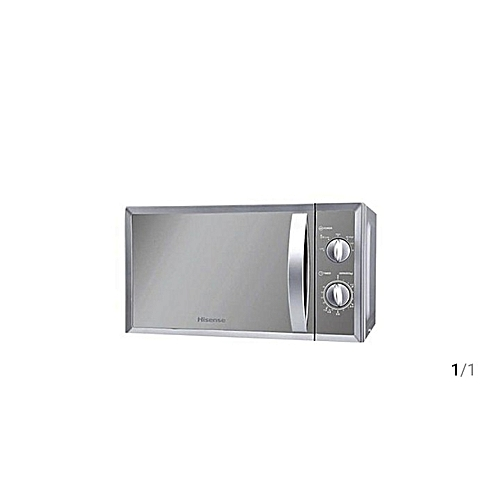 20 Litre Microwave Oven-Silver Mirror
