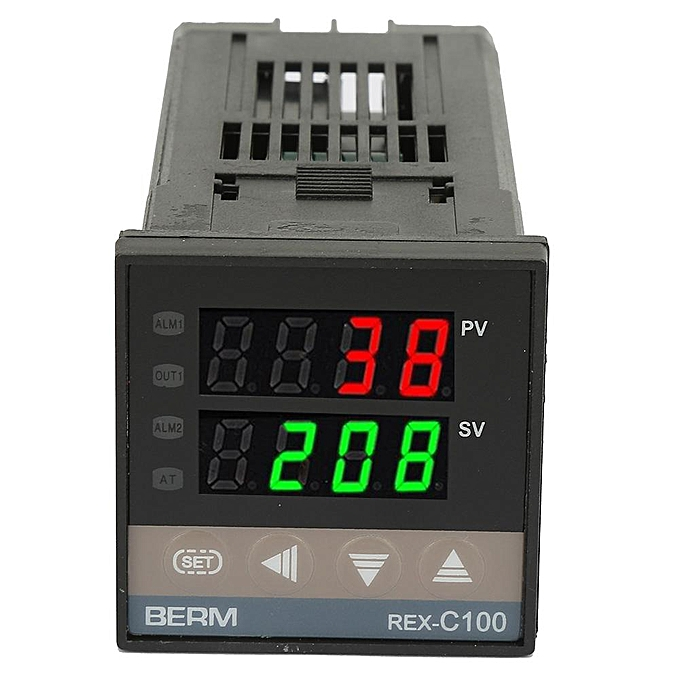 Digital Display PID Temperature Controller Thermostat Regulator Relay  Output 0-400 ℃ Solid State Relay For Sous Vide Home Brewing