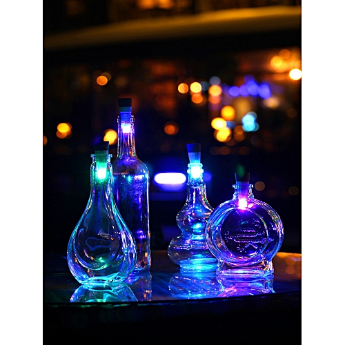 Bottle Light Cork Shaped Rechargeable LED Night Lights