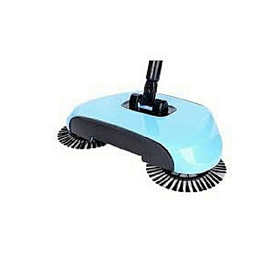 Magic Sweeper Automatic Spinning Broom And Vacuum Cleaner Cordless No Battery Required - Blue
