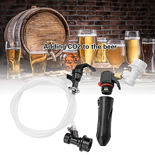 Rechargeable Reusable Portable Handheld CO2 Inflator Brew Beer Tool