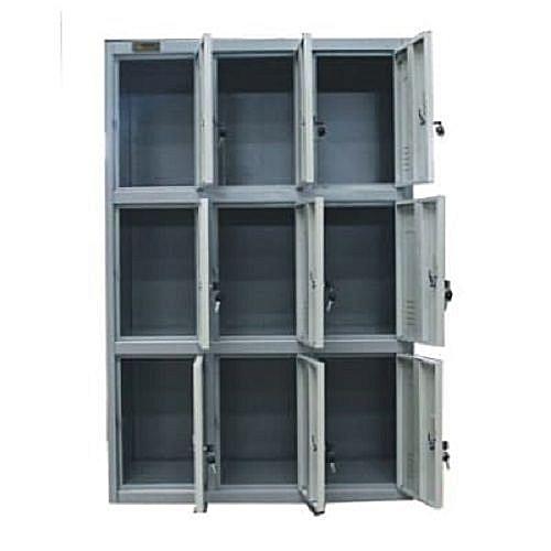 Workers Metal Box Storage Lockers 9 Doors