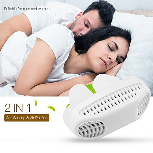 2 In 1 Anti Snoring Device Air Purifier Nose Breathing Apparatus Sleeping Aid