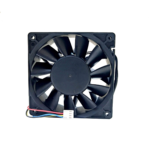 Muliawu Store 5500RPM Cooling Fan Replacement 4-pin Connector For Antminer Bitmain S7/S9/L3/T9-Black