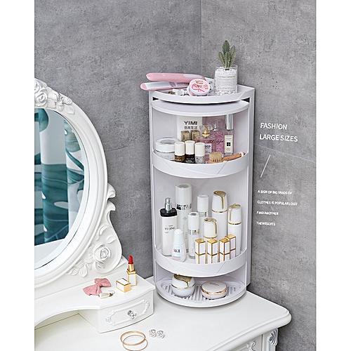 Bathroom Kitchen Revolving Storage Rack Storage
