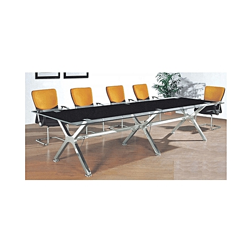 Arko Glass Conference Table - 3mtrs( LAGOS ONLY)