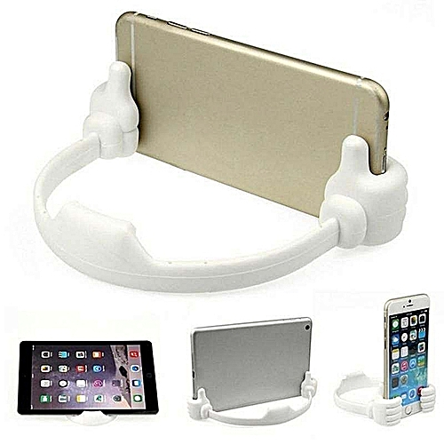 Flexible Thumb Stand Holder For Mobile Phone
