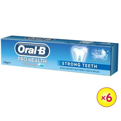 oral b strong teeth toothpaste 140g pack of 6 buy