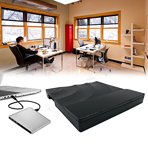 100% New USB 3.0 External Double Layer Burner Writer Player DVD CD Drive For Laptop PC